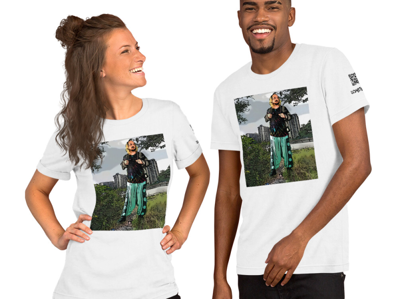 Fort Totten park comic T-shirt
