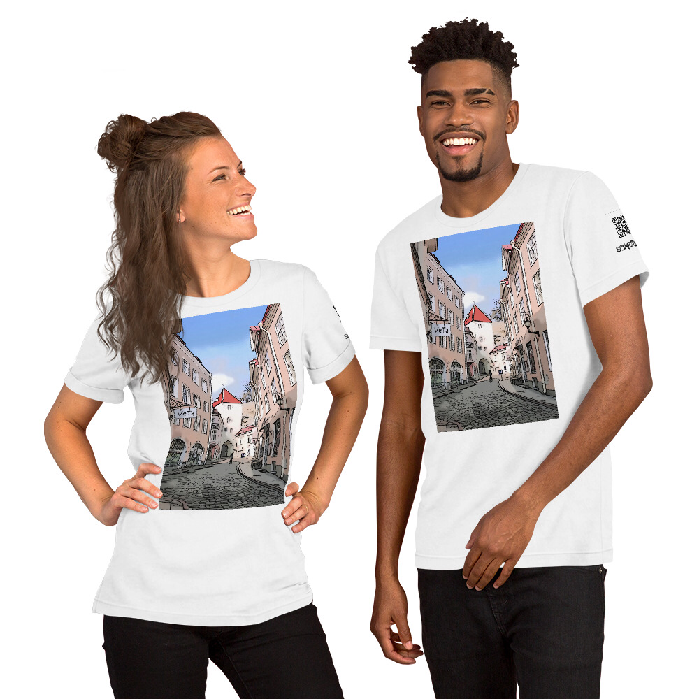 Estonia comic T-shirt