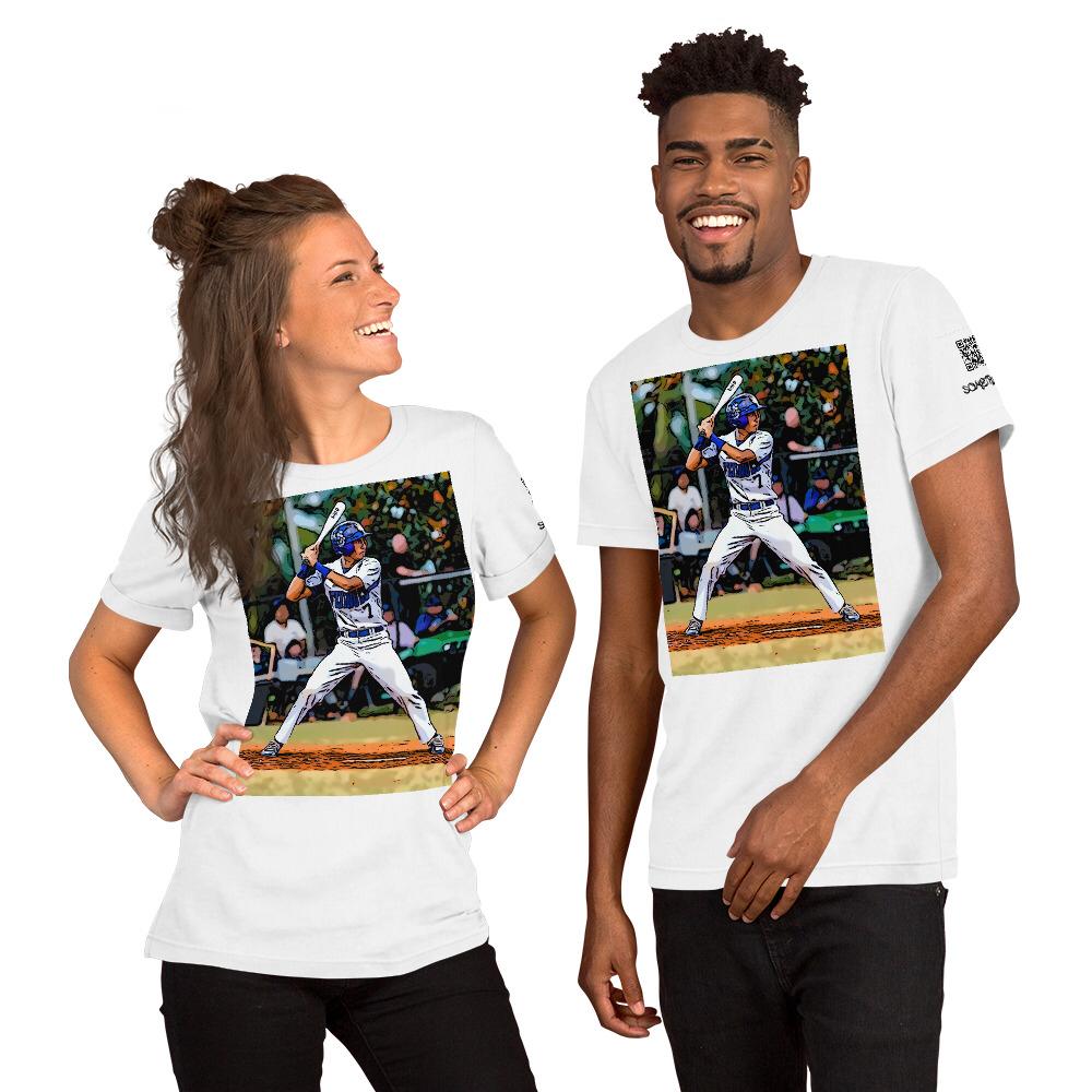 Baseball comic T-shirt