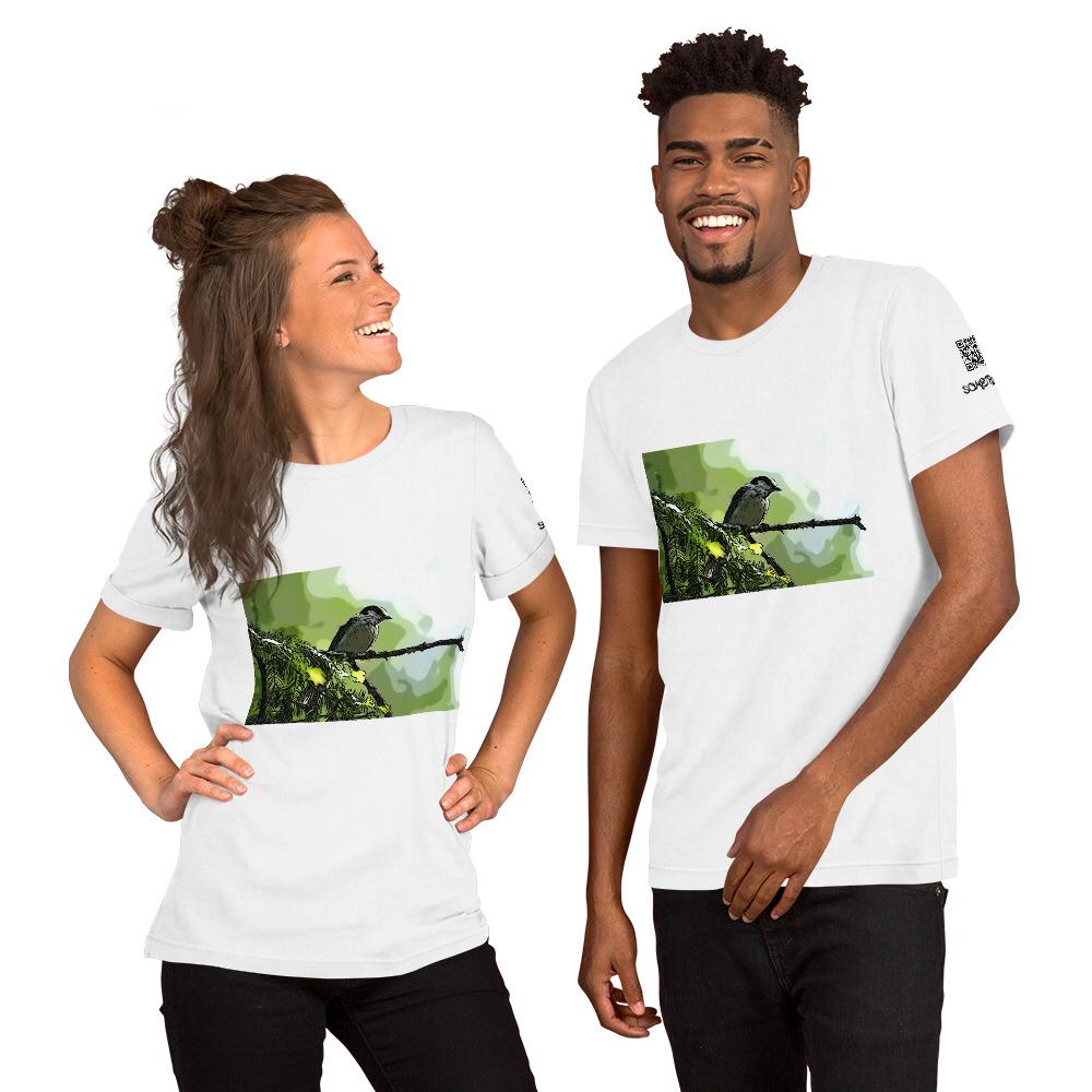 Canada Jay comic T-shirt