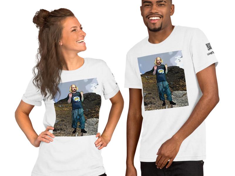 Tungnath comic T-shirt