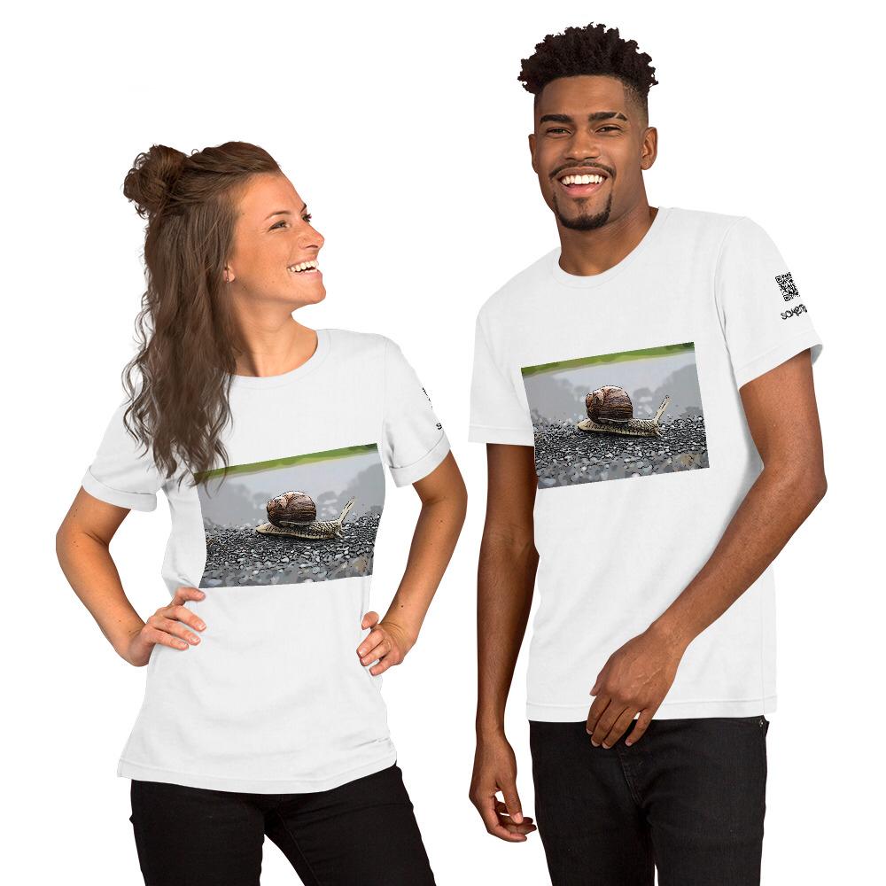 Snail comic T-shirt