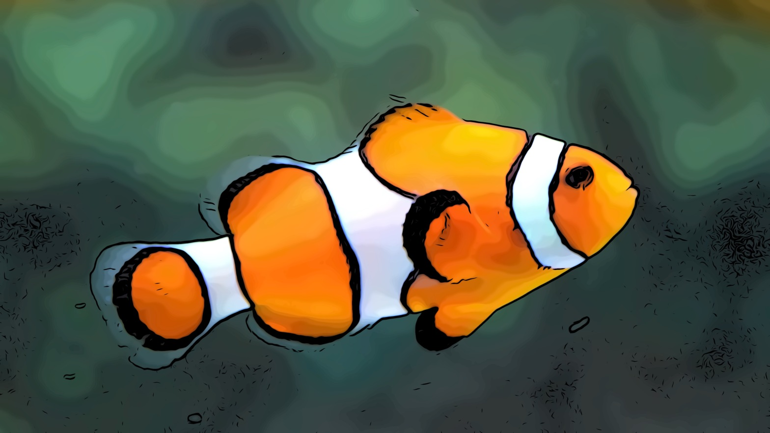 Fish header comic