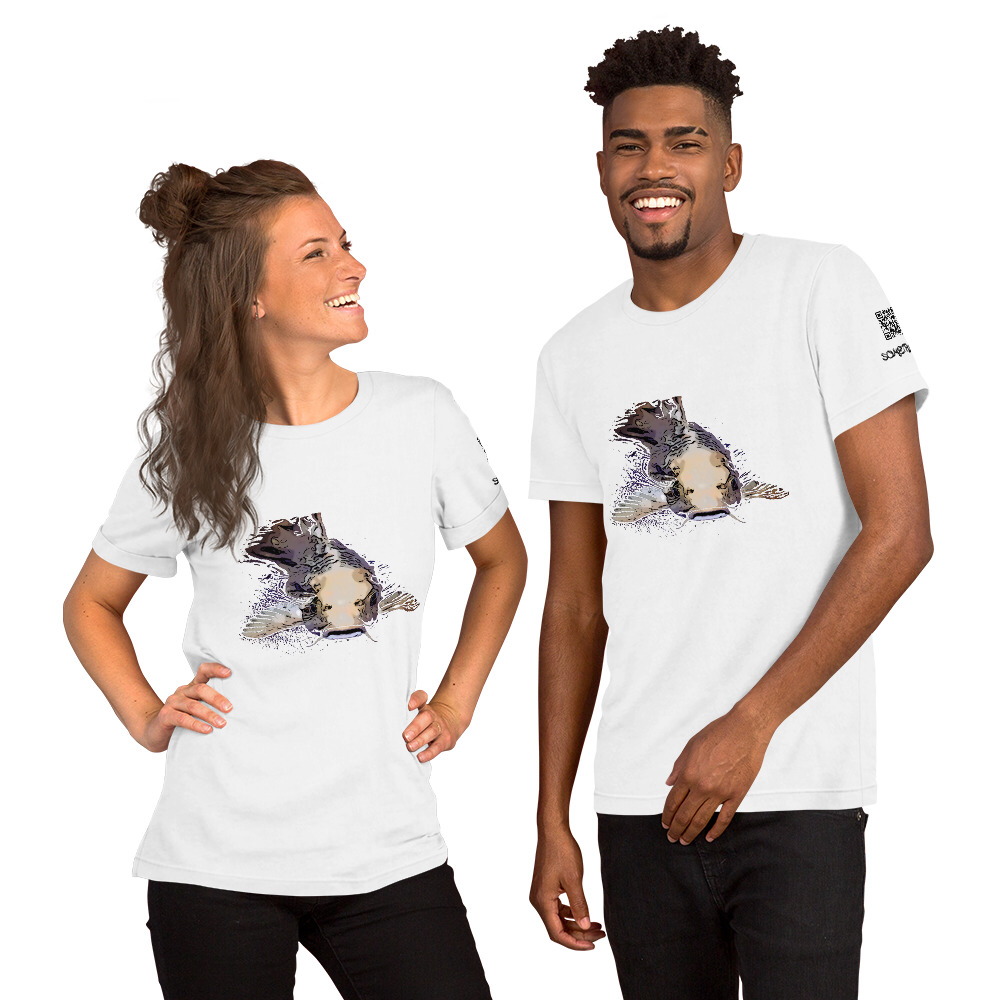Catfish comic T-shirt