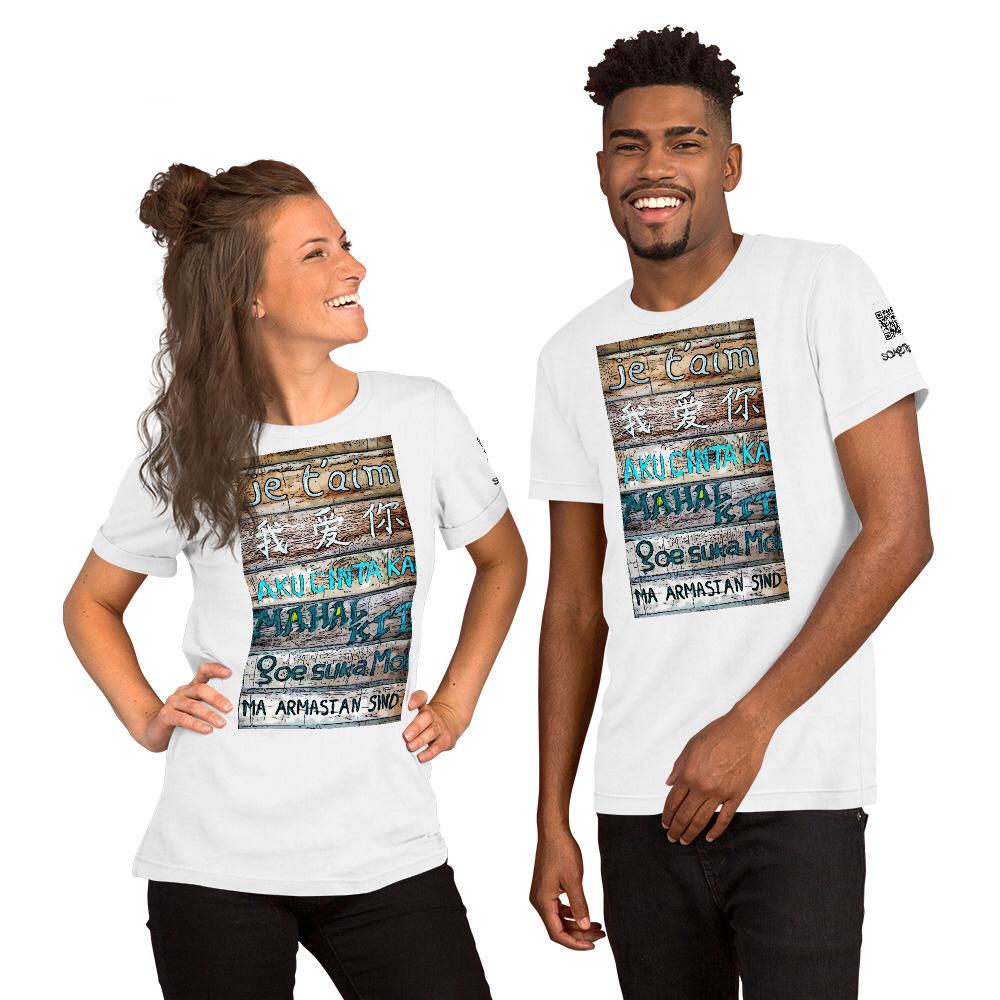 Language comic T-shirt
