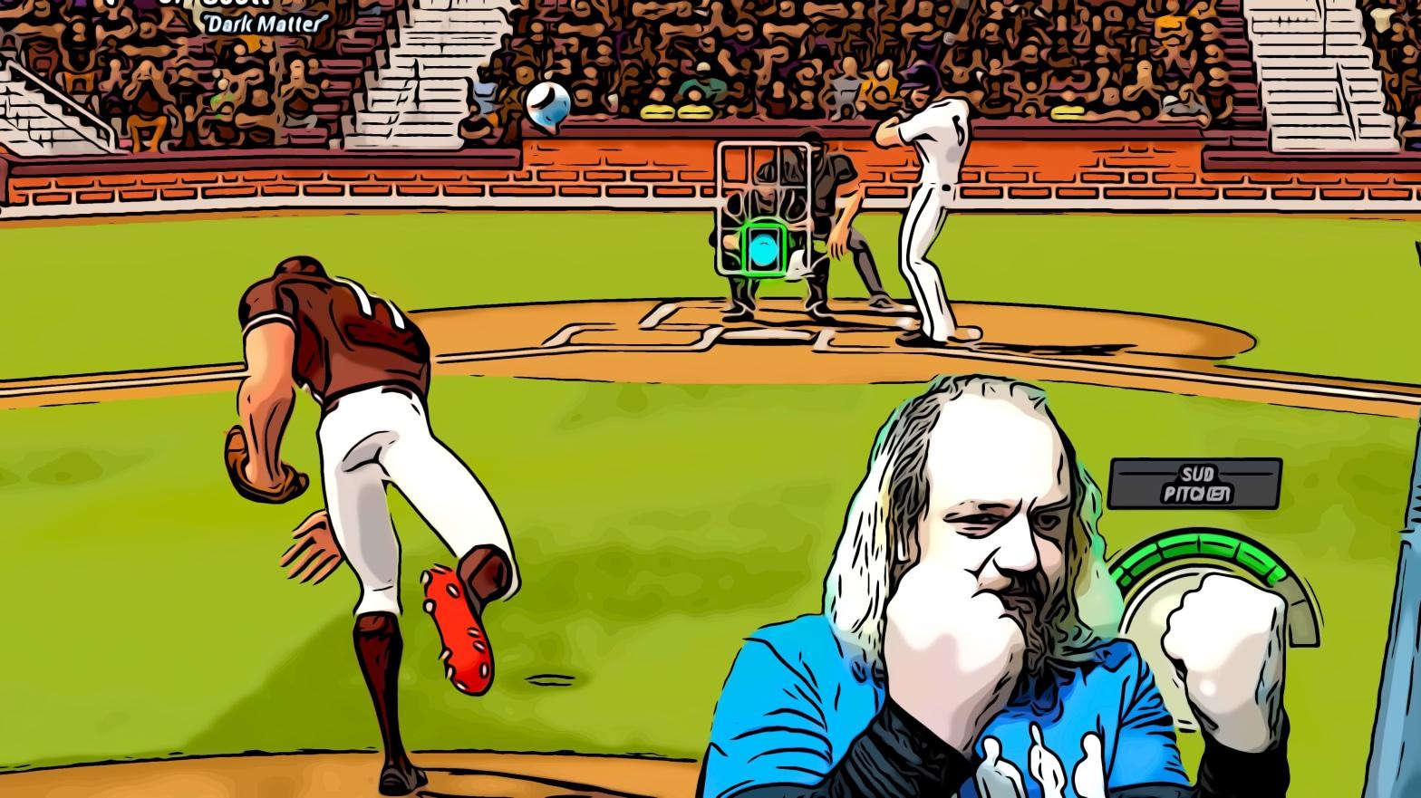 Ballistic Baseball header comic