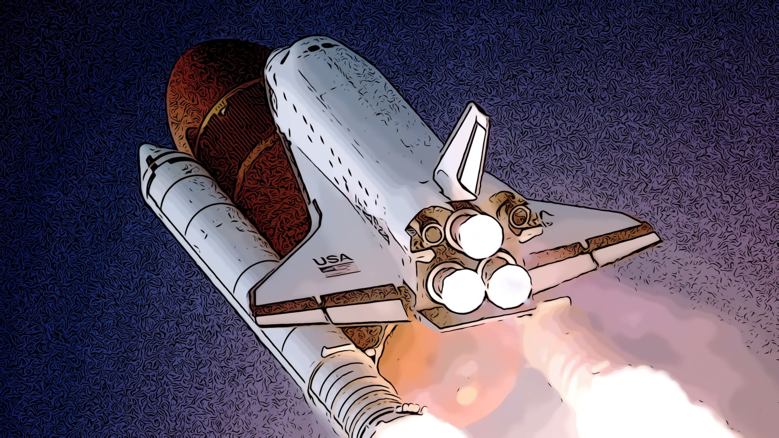 Rocket header comic