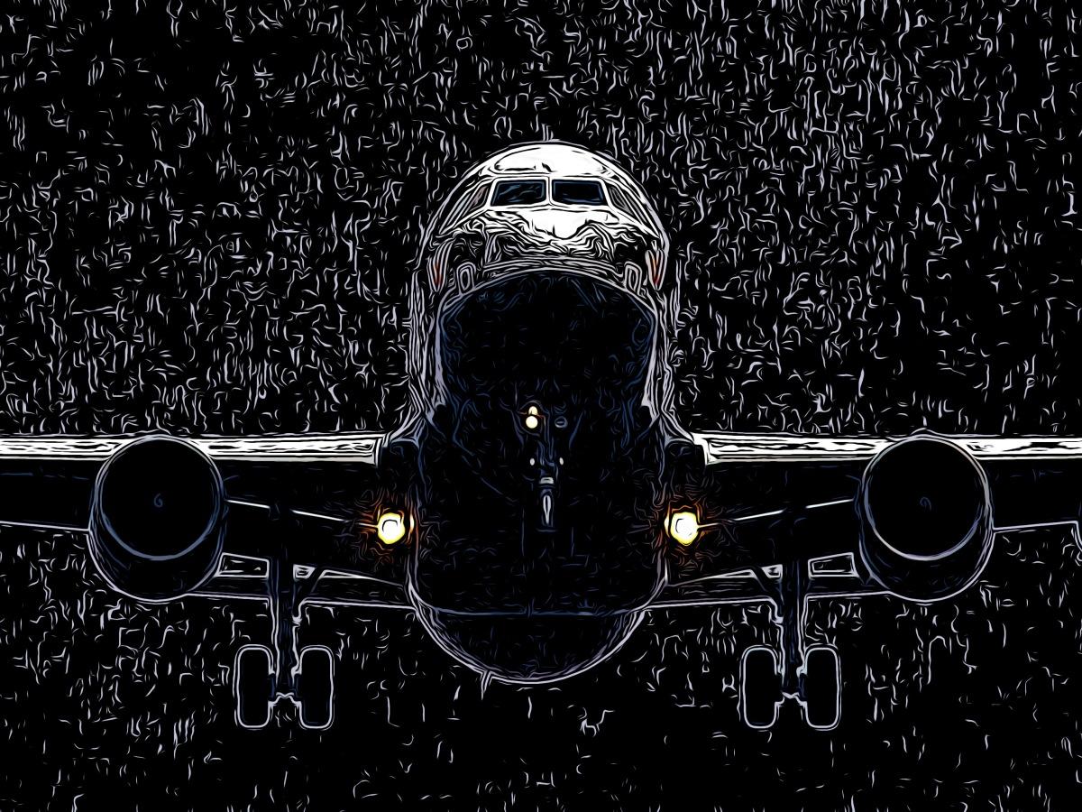 Airplane header comic