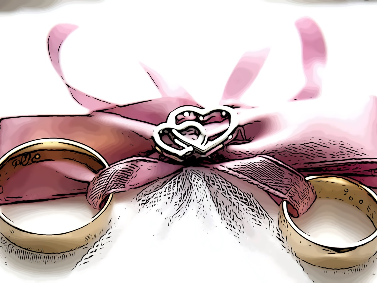 Wedding header comic