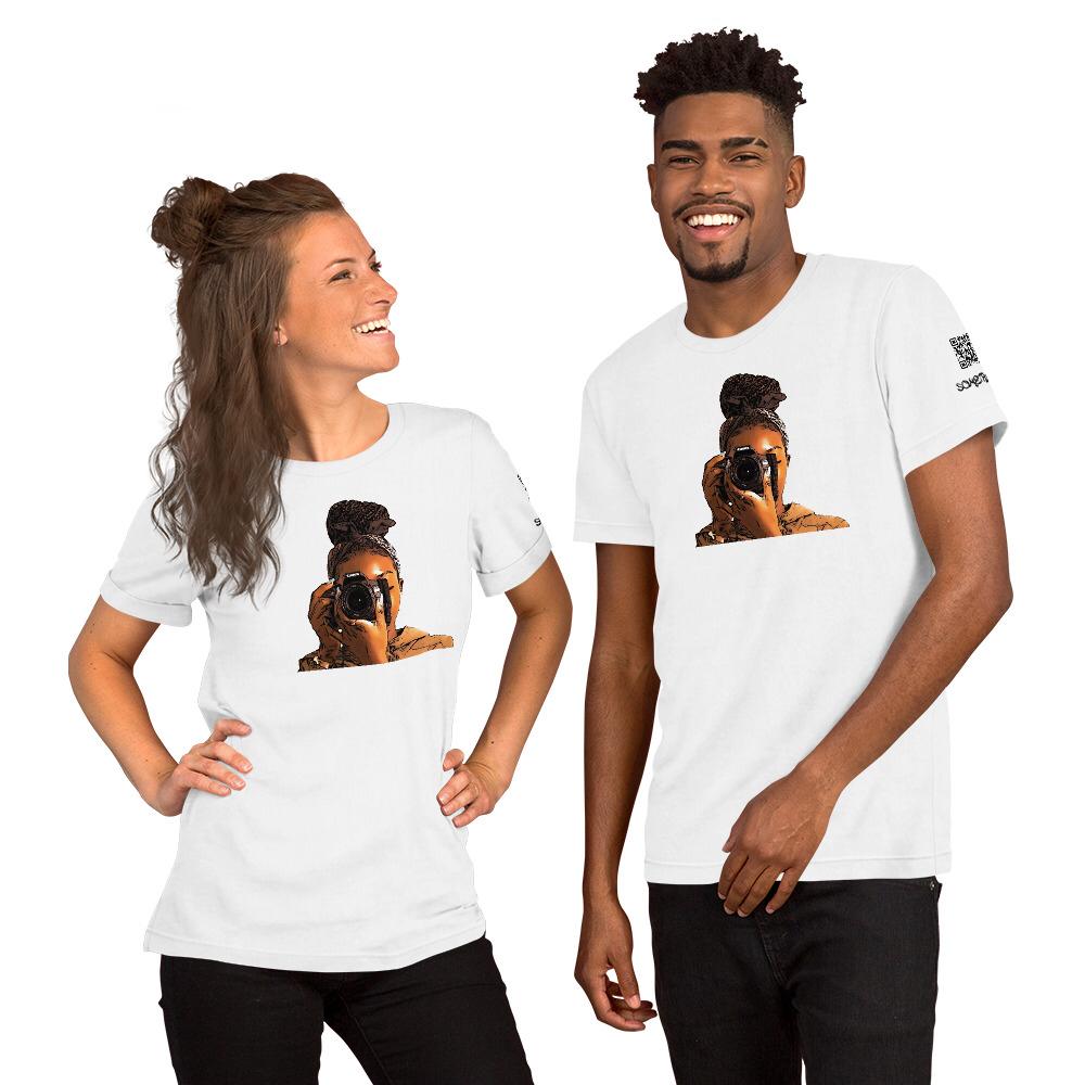 Snap comic T-shirt