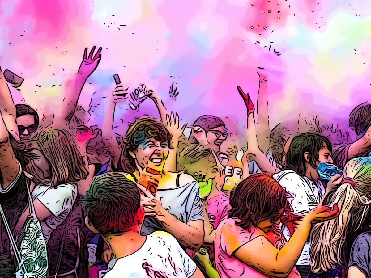 Festival header comic